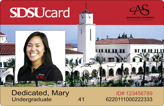 SDSU Red ID Card